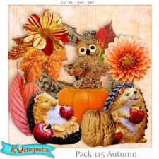 Pack 115 autumn by Kastagnette