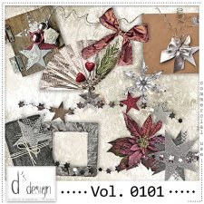 Vol. 0101 to 0103 Christmas Mix by Doudou Design