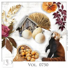 Vol. 0750 Autumn Nature Mix by D's Design