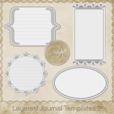 Layered Tag Templates 2 by Josy