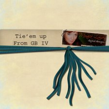 Tie em' up - action by Monica Larsen