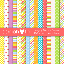 Happy Easter Papers by Scraphoto Studio
