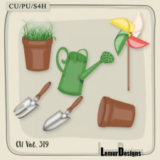 CU Vol 319 Garden Pack 2 by Lemur Designs