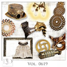 Vol. 0619 Steampunk Mix by D's Design