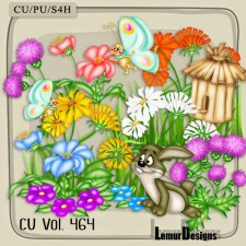 CU Vol 464 Summer Forest by Lemur Designs
