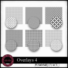Overlays 4 CU4CU by Happy Scrap Art