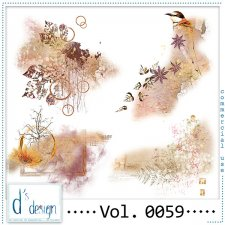 Vol. 0059 Autumn Accents by Doudou Design