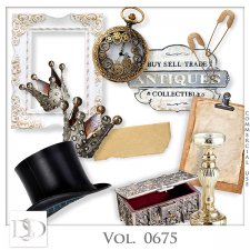 Vol. 0675 Vintage Mix by D's Design