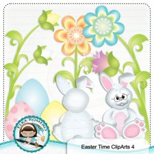 Easter Time ClipArt 4 by Elka Romero