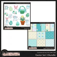 EXCLUSIVE Layered Easter Templates Set 3 BUNDLE by NewE Designz