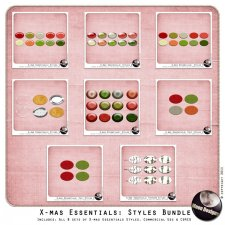 Christmas Essentials: Styles Bundle by MoonDesigns