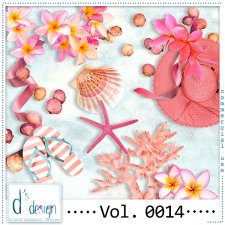 Vol. 0013 to 0016 Beach Mix by Doudou Design