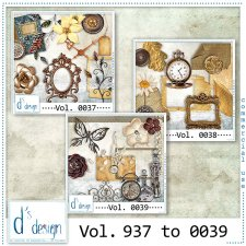 Vol. 0037 to 0039 Vintage Mix by Doudou Design