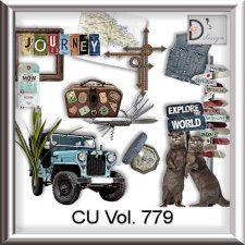 Vol 779 Travel World by Doudou Design