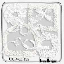 CU Vol 132 ribbon bow by Lemur Designs
