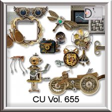 Vol. 655 Steampunk Mix by Doudou Design
