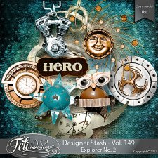 Designer Stash Vol 149 - Explorer No 2 by Feli Designs