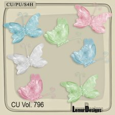 CU Vol 796 Butterflys by Lemur Designs