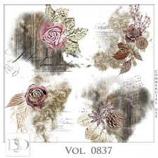 Vol. 0837 Vintage Accents by D's Design