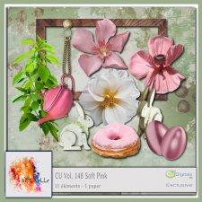 Vol 148 Soft Pink Elements EXCLUSIVE bymurielle