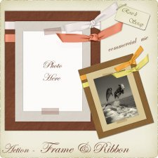 Action - Frame & Ribbon by Rose.li