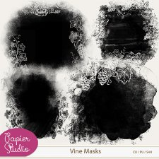 Vine Masks EXCLUSIVE by PapierStudio Silke