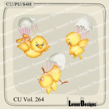 CU Vol 264 Animals Chick by Lemur Designs