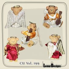 CU Vol 199 Angel bear by Lemur Designs