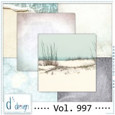 Vol. 997 Beach papers by Doudou Design