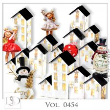 Vol. 0454 Winter Christmas Mix by D's Design