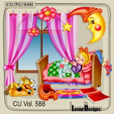 CU Vol 588 Sweet Dreams by Lemur Designs