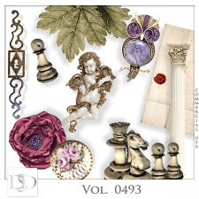 Vol. 0493 Vintage Mix by D's Design