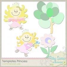Template Princess Pack 01 by Pathy Design