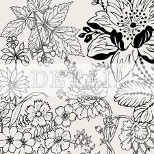 Layered Floral Template EXCLUSIVE by PapierStudio Silke
