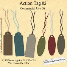 Tag Action 02 by Cida Merola