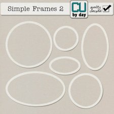 Simple Frames 2 - CUbyDay EXCLUSIVE
