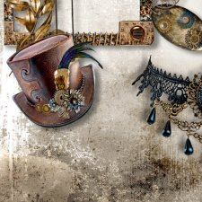 Vol. 893 Steampunk Mix by Doudou Design