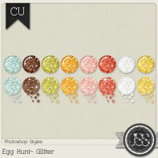 Egg Hunt Glitter PS Styles by Just So Scrappy
