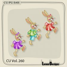 CU Vol 260 Easter Elements Pack 8 by Lemur Designs