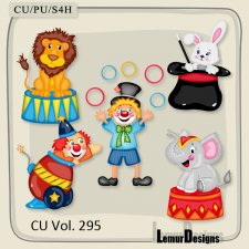CU Vol 295 Circus Pack 1 by Lemur Designs