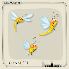 CU Vol 301 Dragonfly by Lemur Designs