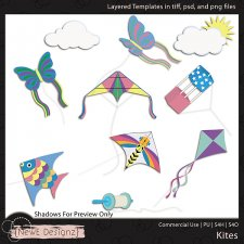 EXCLUSIVE Layered Kites Templates By NewE Designz