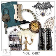 Vol. 0487 Vintage Mix by D's Design