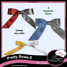 Pretty Bows 08 byBoop Designs