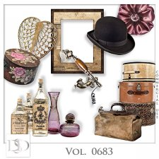 Vol. 0683 Vintage Mix by D's Design