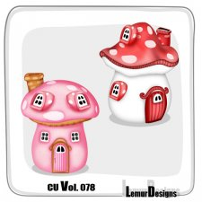 CU Vol 078 Mushroom House by Lemur Designs