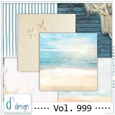 Vol. 999 Beach papers by Doudou Design