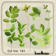CU Vol 191 Nature foliage by Lemur Designs