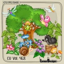 CU Vol 468 Summer Forest by Lemur Designs