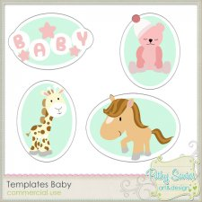 Templates Baby by Pathy Design